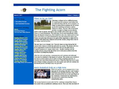 fighting acorn soccer newsletter menlo college athletics athletics