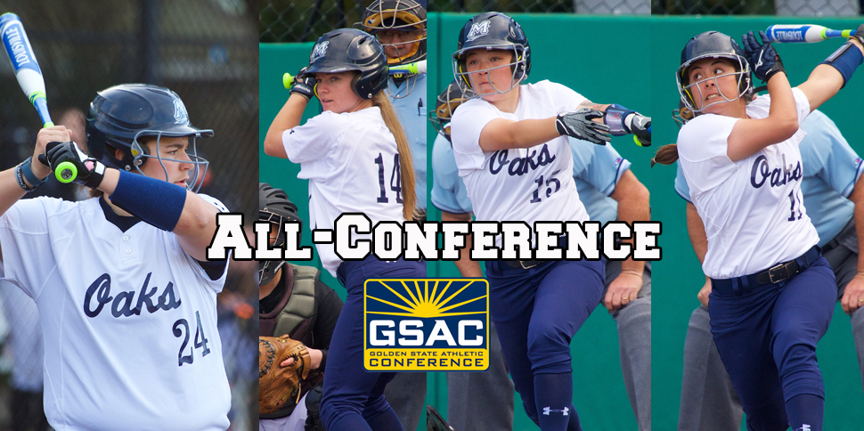 Photo for Oaks place four on All-GSAC Team