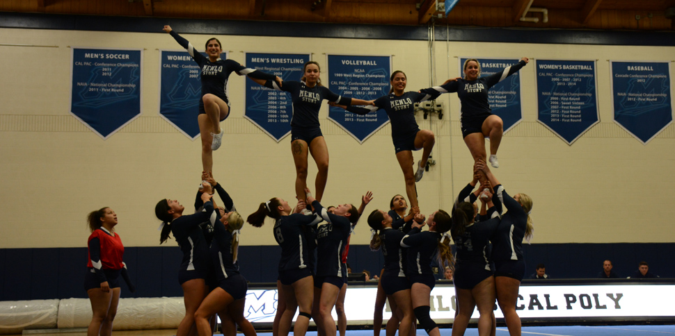 Photo for Menlo College STUNT hosts Bay Area Tournament, splits with UC Davis and Cal Poly