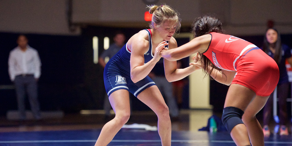 Photo for Women�s Wrestling finishes 7th, five earn All-American status at WCWA nationals