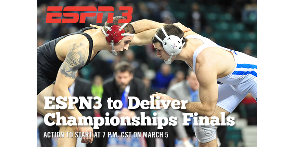 Photo for ESPN3 to Deliver 2016 NAIA Wrestling Championships Finals