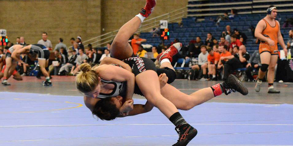 Photo for All-American transfer Kait Fitzpatrick signs with women�s wrestling