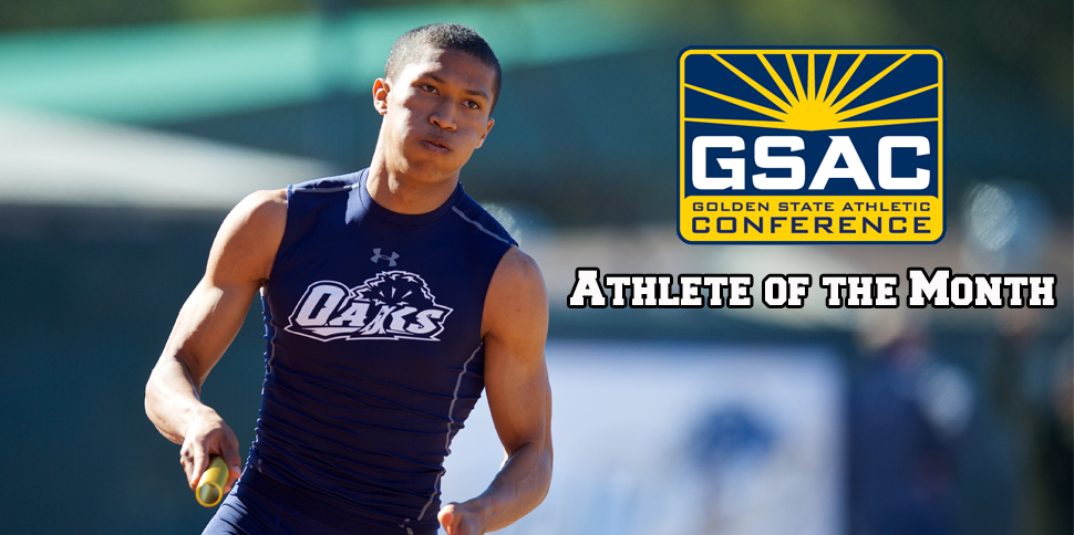 Photo for Ibrahima Mobley Earns Second GSAC Track Athlete of the Month Award
