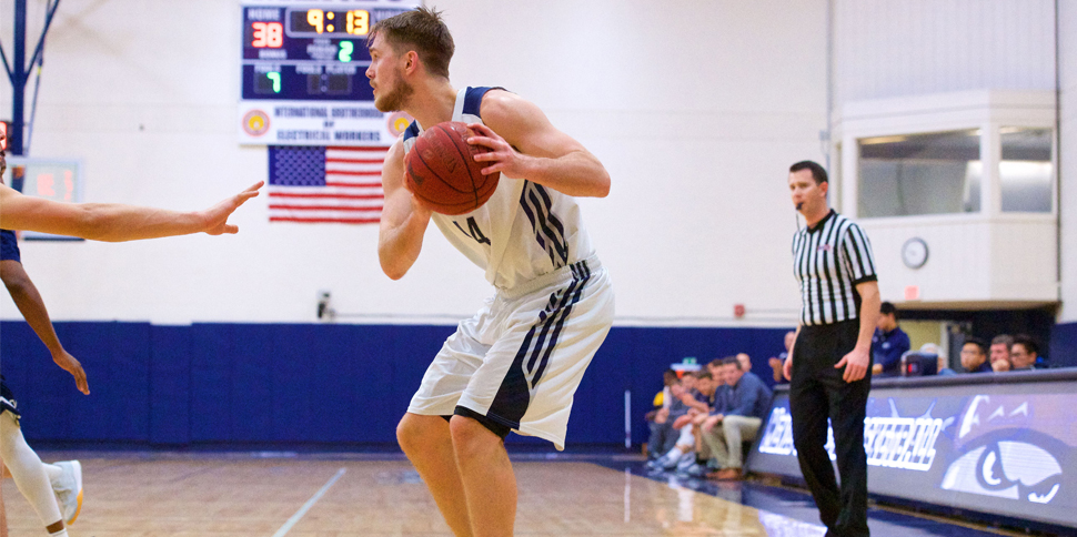 Photo for Men's Basketball falls in early hole, can't climb out against #16 Westmont