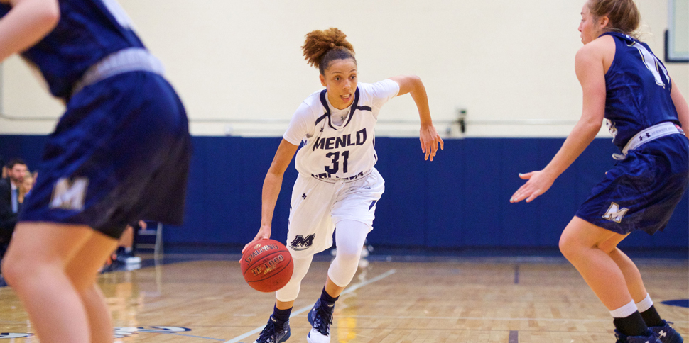Photo for Offense stalls in Women's Basketball's 62-50 loss to #21 The Master's University