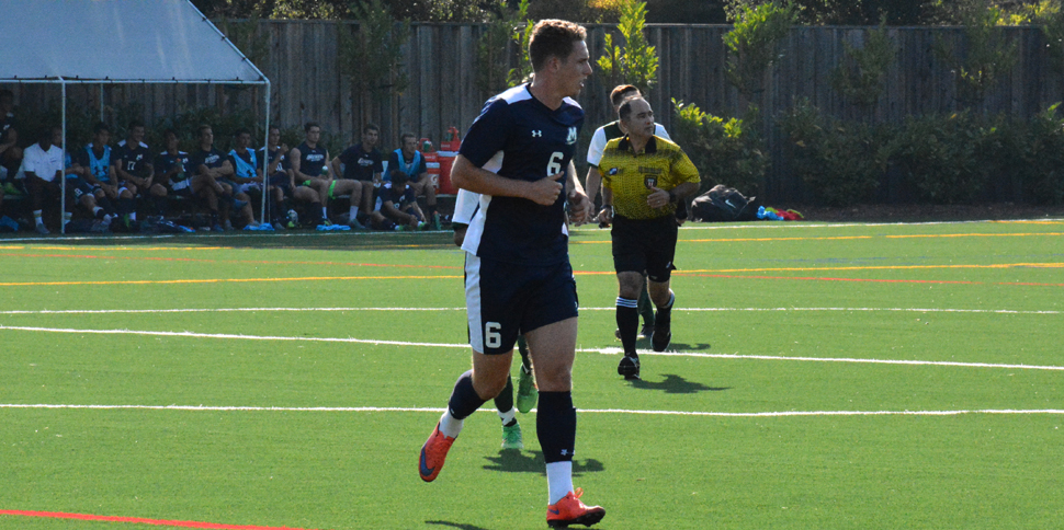 Photo for Goal in 82nd minute leads Menlo to 1-0 win in GSAC opener