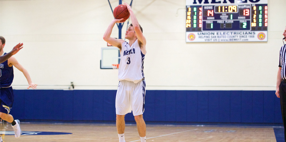 Photo for Men's Basketball drops close contest against #6 Biola 63-55