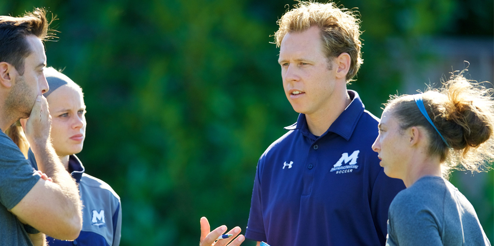 Photo for Keith Lambert named Menlo Men's Soccer Head Coach