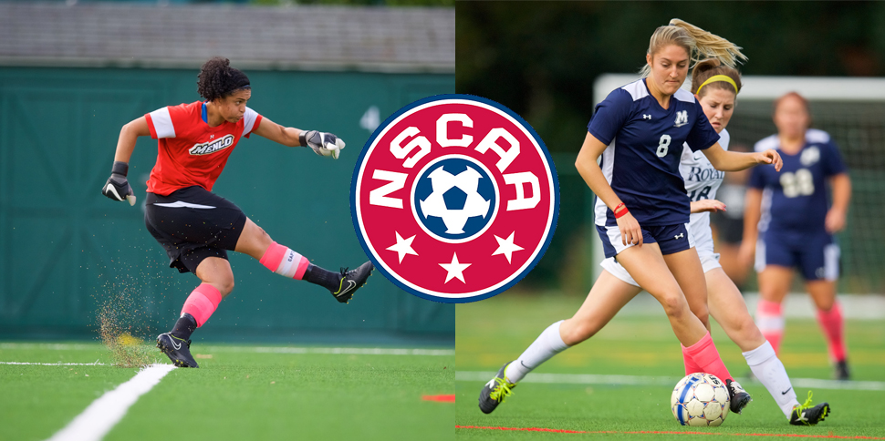 Photo for Swart and McCloskey named to NSCAA All-Region Teams