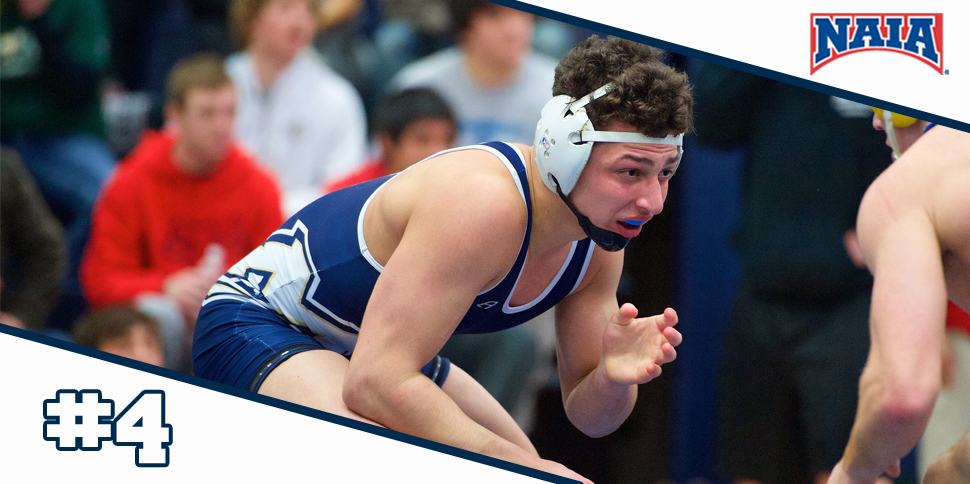 Photo for Men's Wrestling remains #4 in NAIA Coaches' Poll