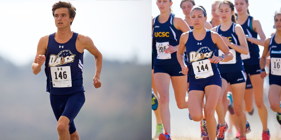 Photo for Boutin and Thompson Pace Oaks at GSAC Championships