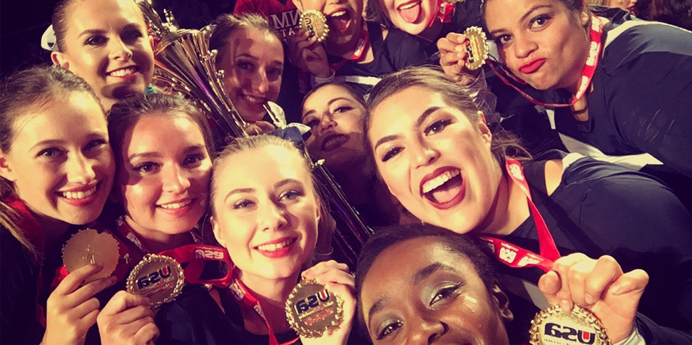 Photo for Cheer places second at USA Collegiate Championships