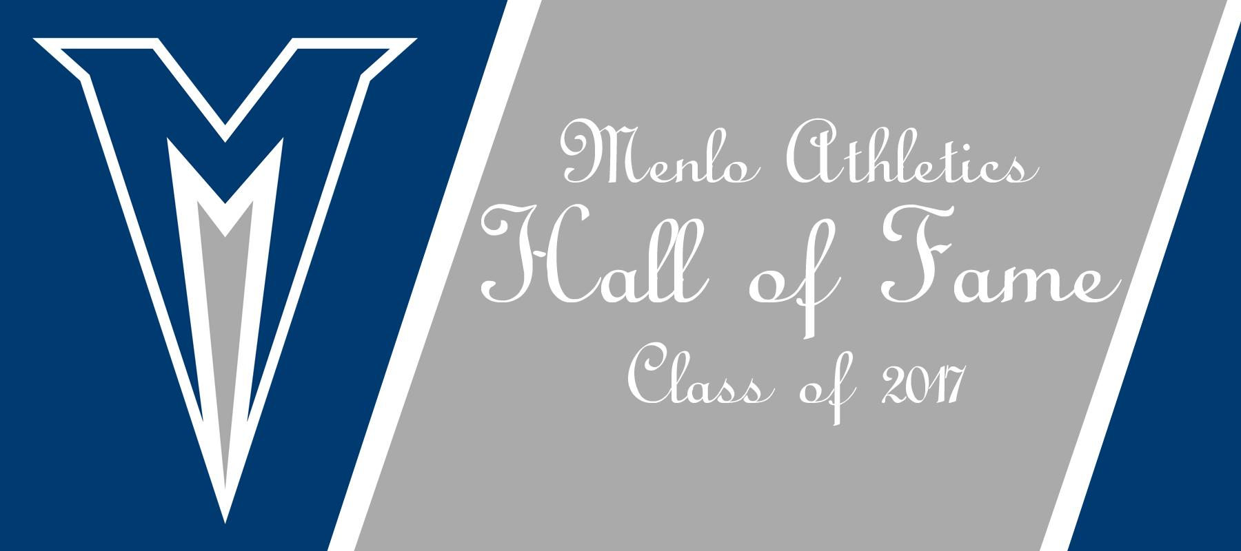 2017 Menlo Athletics Hall of Fame Class Announced