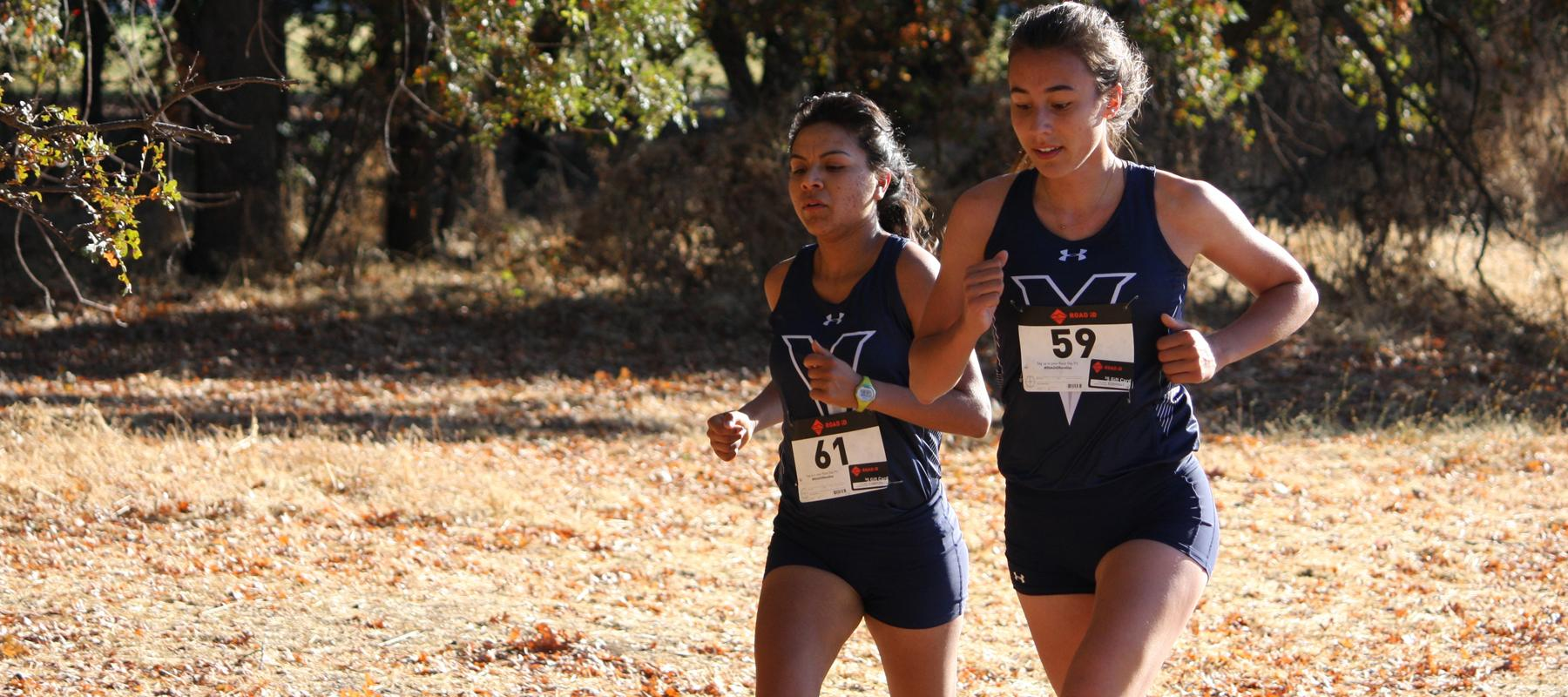 Men's and Women's Cross Country hit PR's at Warrior Invite