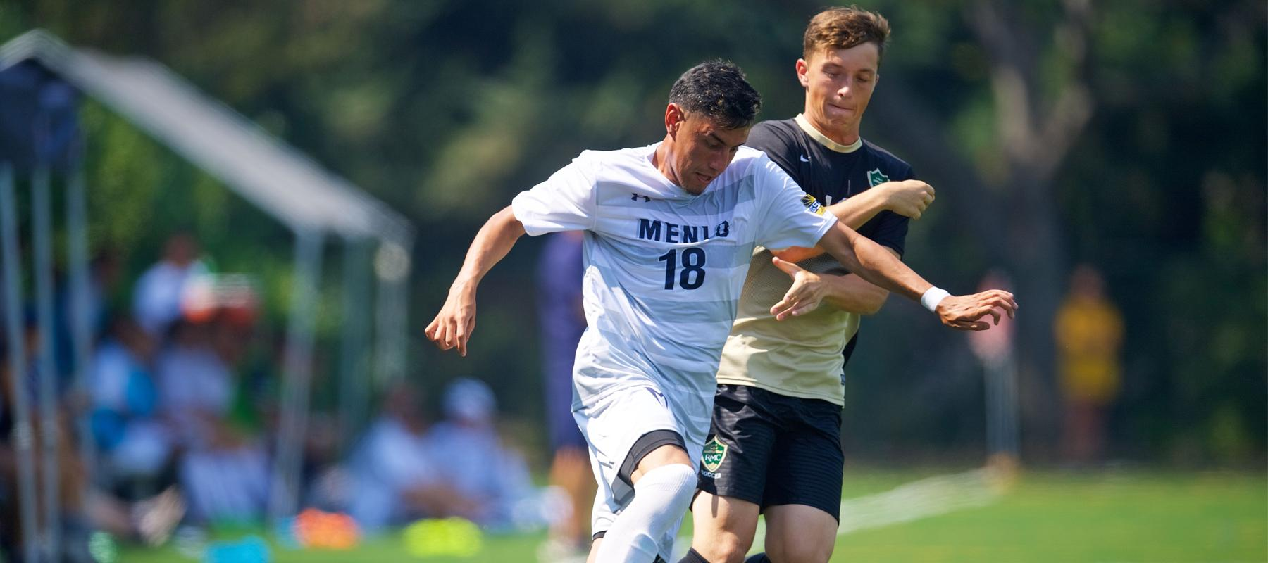 Second half offense propels Men's Soccer to 3-1 win over Hawks