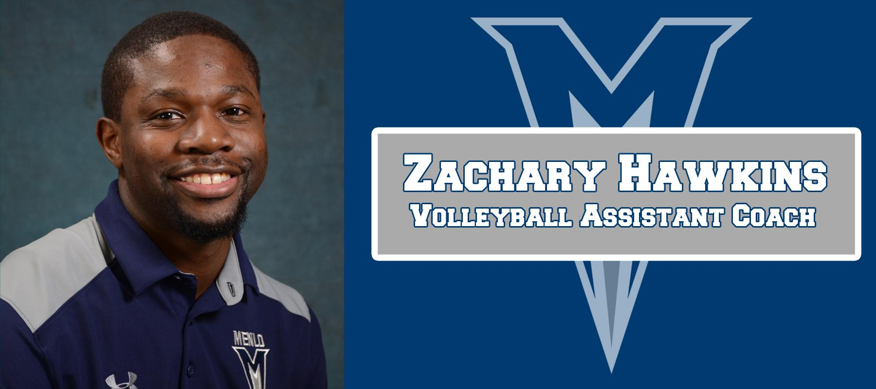 Zachary Hawkins named Volleyball Assistant Coach