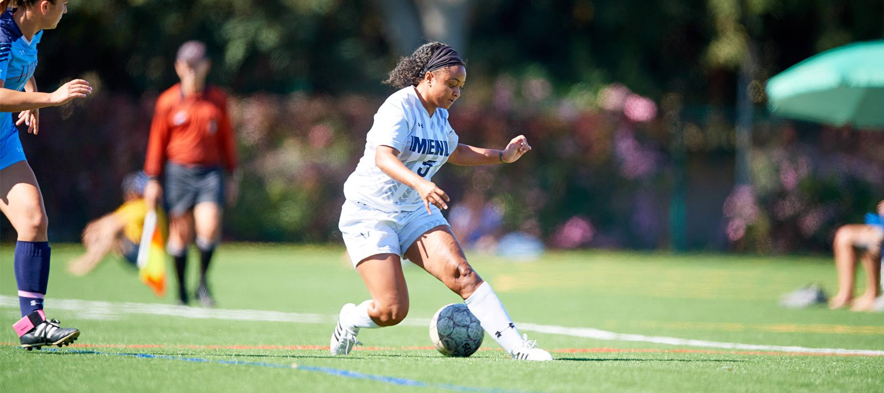 Women's Soccer defeats #7 Westmont 2-0 to earn first win over top-ten opponent
