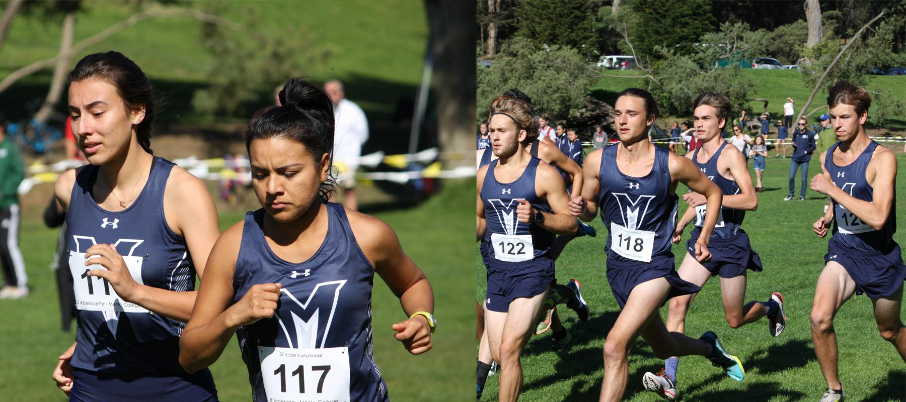 Boutin and Valencia Pace Oaks at SF State Invite